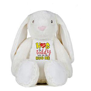 Hug Me Bunny Soft Toy
