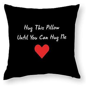 Hug Me Throw Cushion Cover