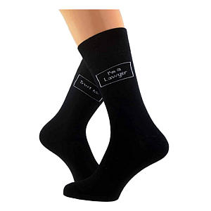 I Am a Lawyer Socks