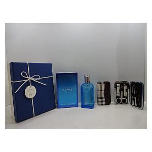 Ice Blue Perfume & Manicure Set for Men