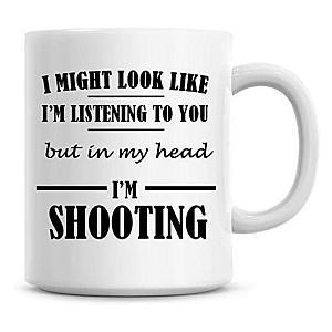 In My Head I Am Shooting Mug