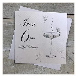 Iron Anniversary Card