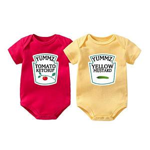 Ketchup and Mustard Bodysuits