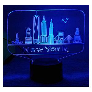 LED New York Table Lamp