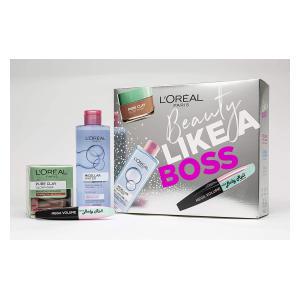 L'Oreal Paris Face Mask & Mascara Gift Set
