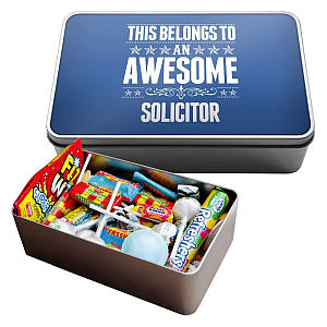 Large Retro Sweet Box for Solicitors