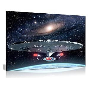 Large Star Trek Canvas Print