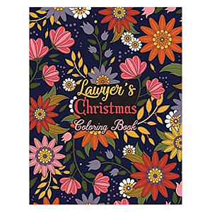 Lawyers Christmas Colouring Book
