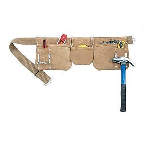 Leather Carpenter's Tool Apron