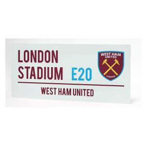 London Stadium Street Sign