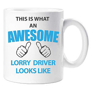 Lorry Driver Mug