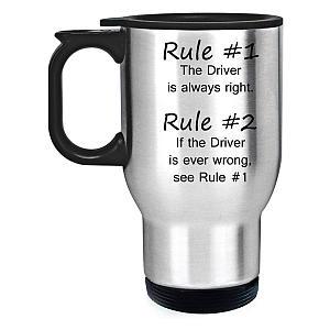 Lorry Steel Travel Mug