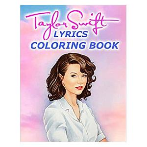 Lyrics Colouring Book