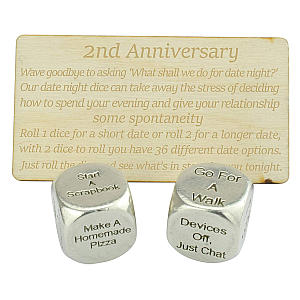 Make a Date Anniversary Dice