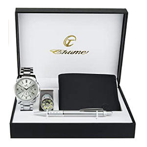 Man's Watch, Wallet and Pen Gift Set