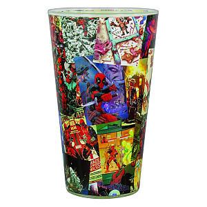Marvel Deadpool Glass Tumbler