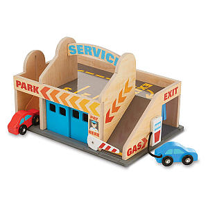 Melissa & Doug Service Station Garage