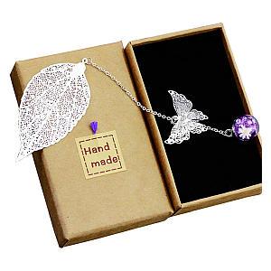 Metal Leaf Bookmark