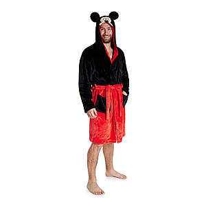 Mickey Mouse Dressing Gown for Men