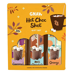 Milk/Caramel and Orange Hot Choc Shot