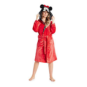 Mini Mouse Hooded Dressing Gown for Women