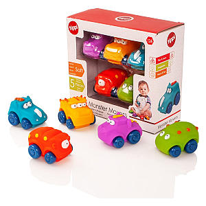 Monster Movers Toy Car Set