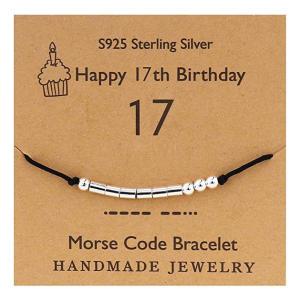 Morse Code 17 Silver Bracelet