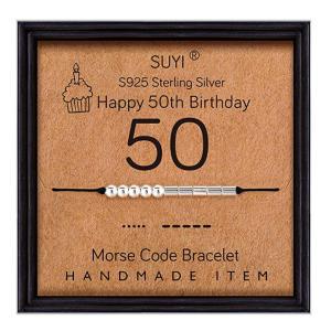 Morse Code 50th Bracelet