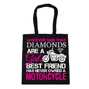 Motorcyclist Tote Bag for Her