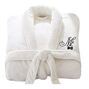 Mr and Mrs Cotton Bath Robes