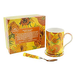 Mug, Coaster and Spoon Set