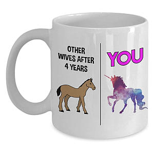 Mug for Wife´s 4th Anniversary