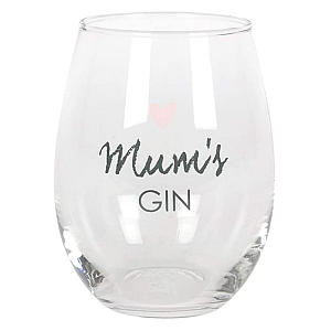 Mum's Gin Glass