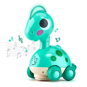 Musical Light Crawling Dinosaur