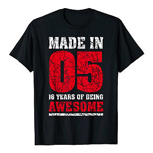 Novelty Made in 05 T Shirt