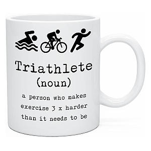 Triathlete Novelty Mug