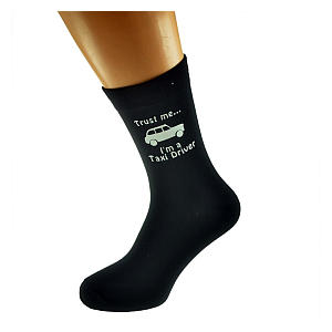 Novelty Taxi Driver Socks