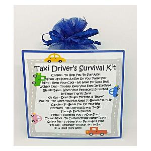 Novelty Taxi Survival Kit