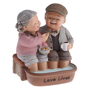 Old Married Couple Figurine