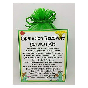 Operation Recovery Survival Kit