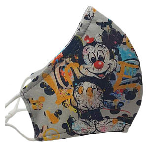 Pack of 3 Mickey Mouse Face Masks