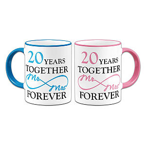 Pair 20 Years Together Mugs