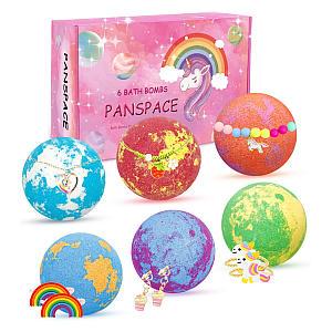 Panspace Kids Bath Bomb Set