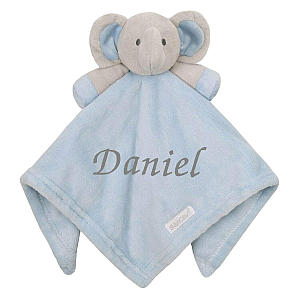 Personalised Baby Boy Comforter