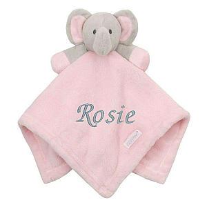 Personalised Baby Girl Comforter