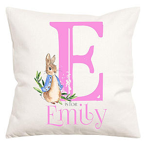 Personalised Beatrix Potter Pillow Cover