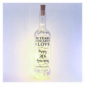 Personalised Bottle Light