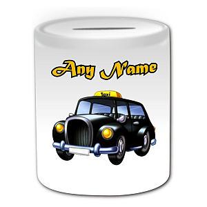 Personalised Cab Money Box