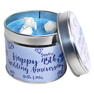 Personalised Candle in a Tin