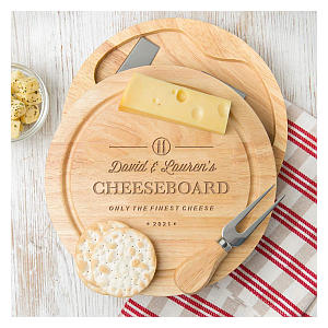 Personalised Cheeseboard and Knife